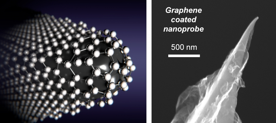 3 - Graphene coated AFM tips