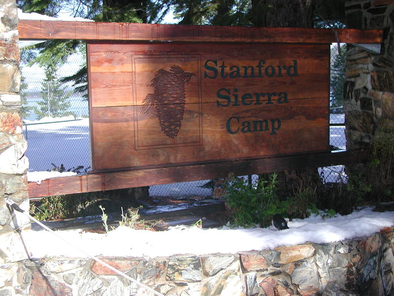 Image: Entrance of the Stanford Sierra Conference Center